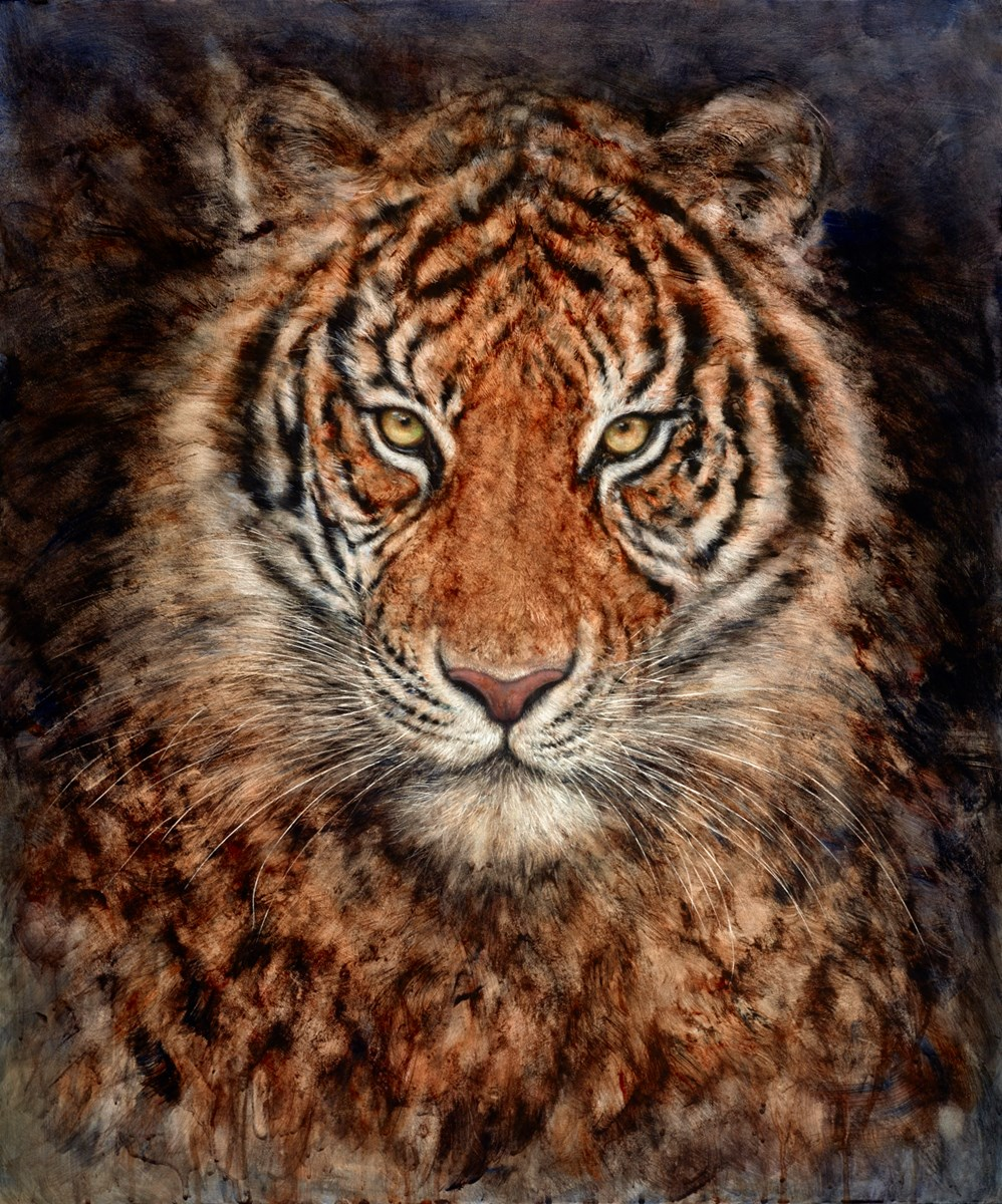 Light and Dark by gary benfield -  sized 27x32 inches. Available from Whitewall Galleries
